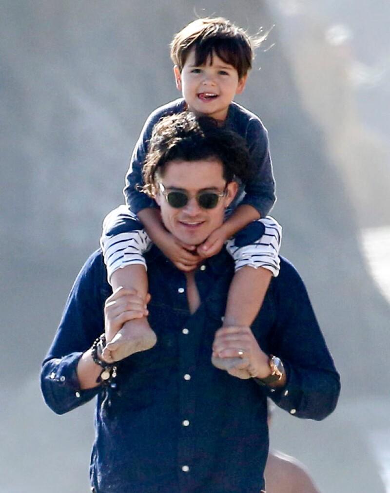 A sus cuatro años, el primogénito de Orlando y Miranda dista mucho de ser el pequeño al que veíamos cuando la famosa pareja aún estaba junta.