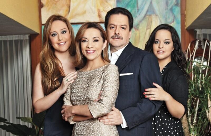 La familia de Josefina Vázquez Mota.