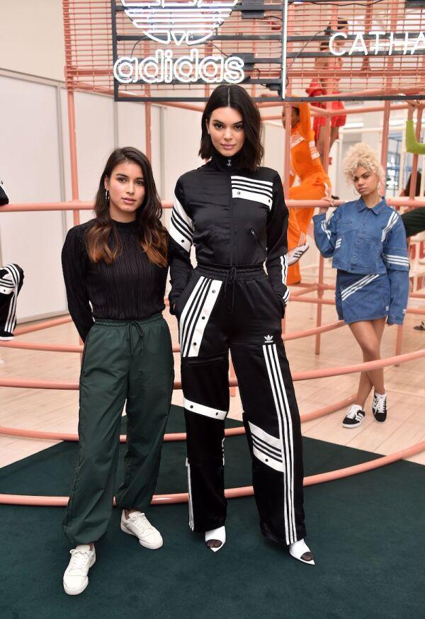 Adidas Originals By Danielle Cathari presentation, Fall Winter 2018, New York Fashion Week, USA - 08 Feb 2018