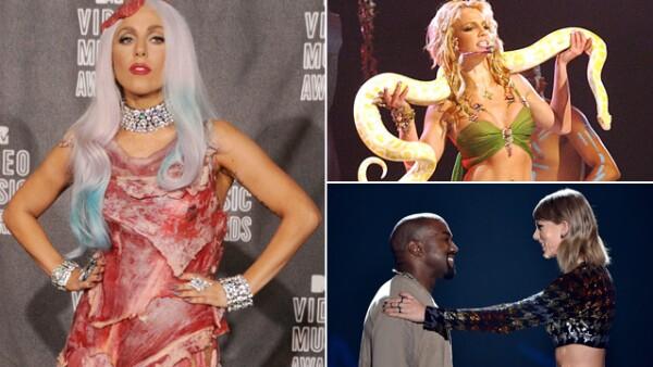 Este domingo son los VMA&#39s y para prepararnos, hacemos un recuento de los mejores momentos en la historia de estos premios.