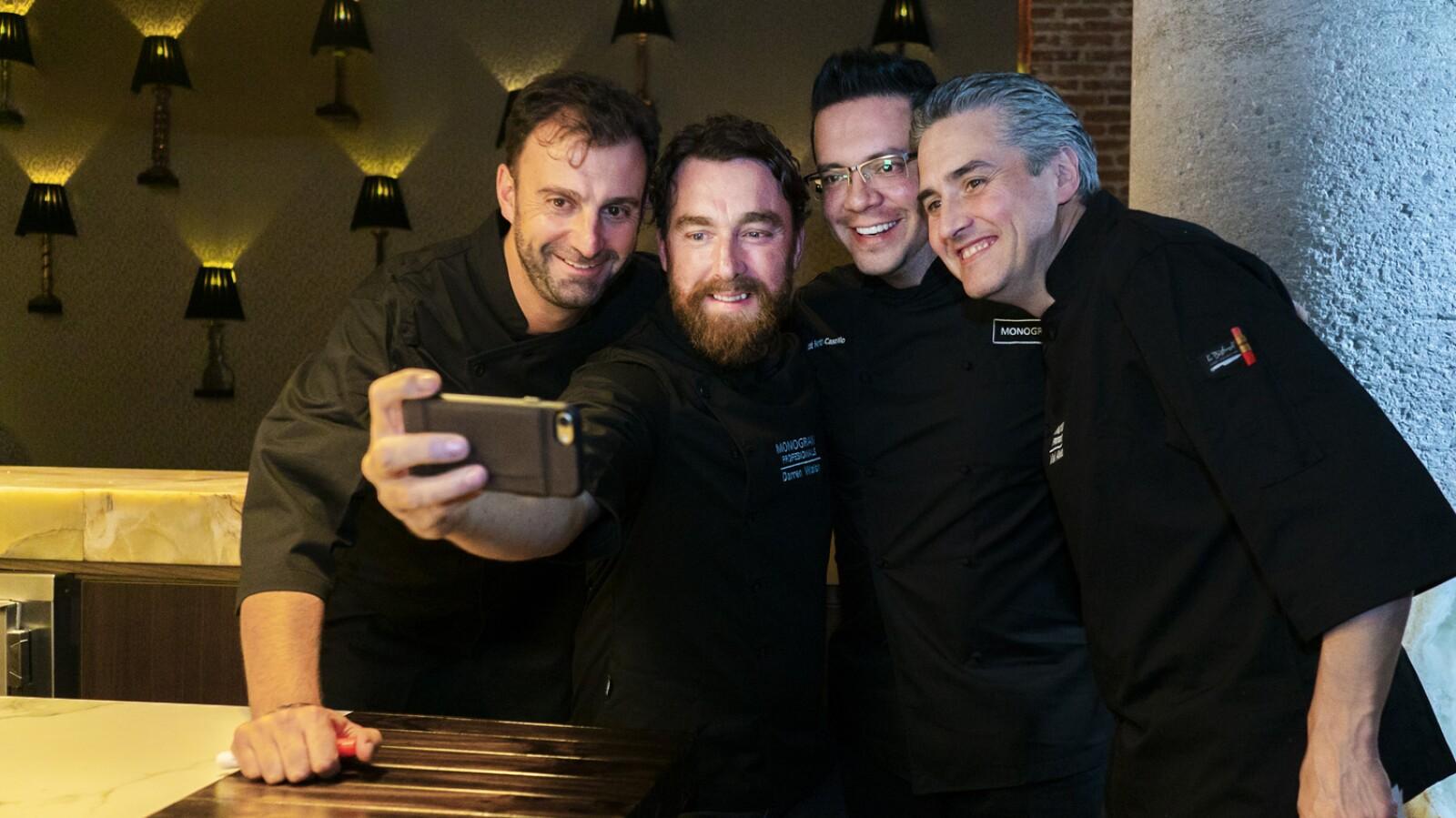 José Luis Estevan, Darren Walsh, José Ramón Castillo, Mikel ALonso.jpg