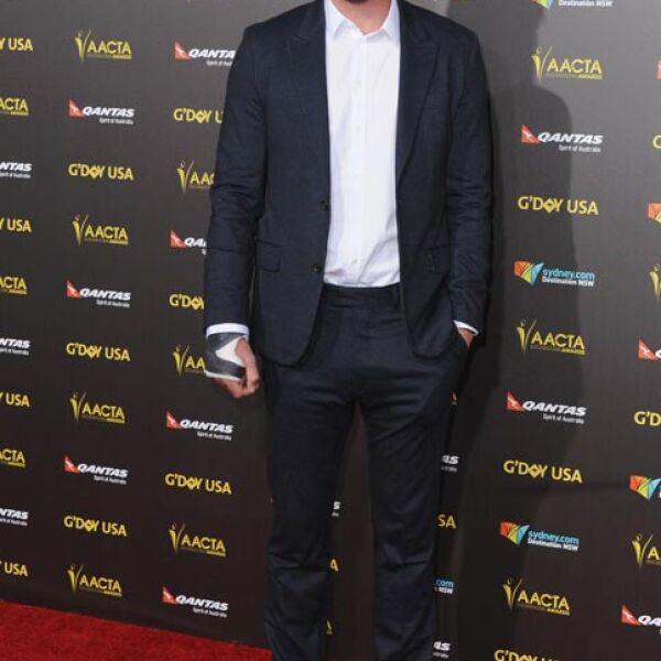 El hermano menor de Chris, Liam Hemsworth, también acaparó miradas.
