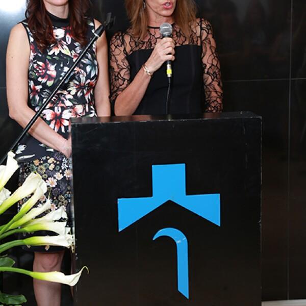 Laura Garza de Garza e Isabel Ruenes de Martin