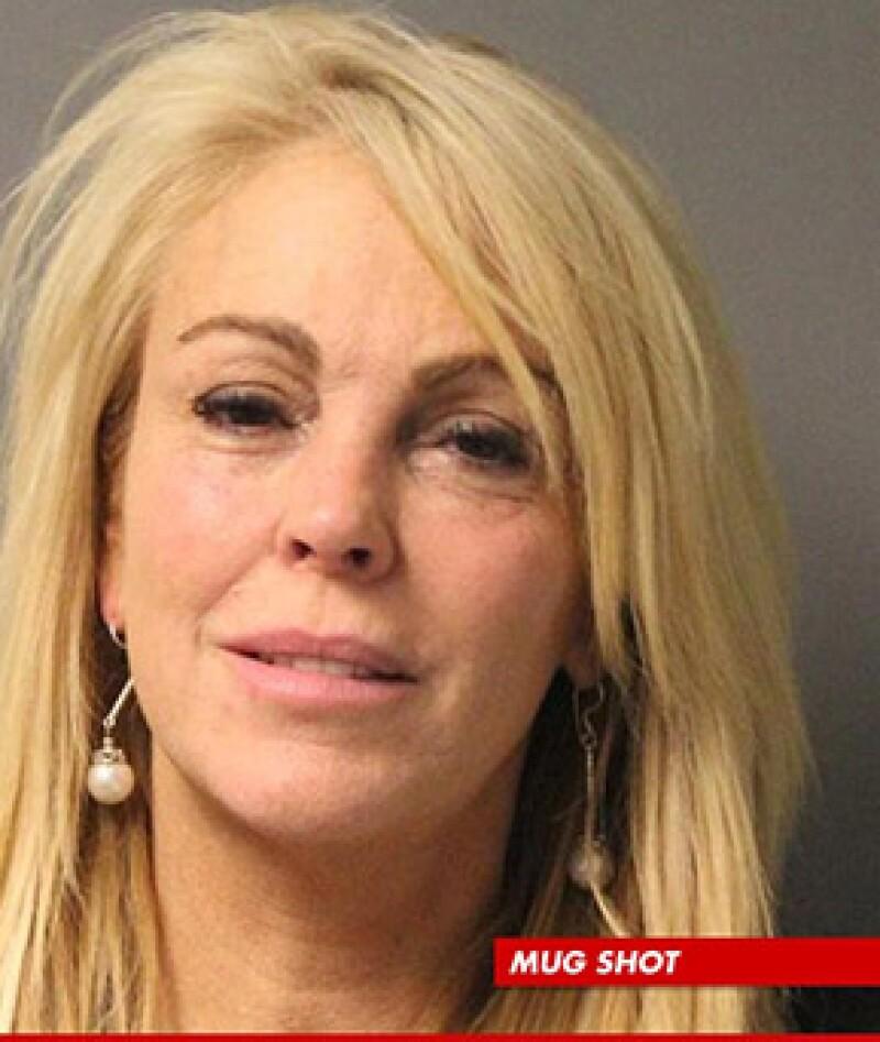 Esta es la imagen que tomaron de ella tras ser arrestada.