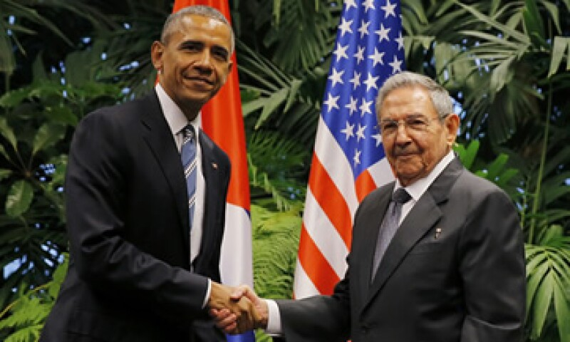 Los mandatarios se reunieron por más de dos horas en el Palacio de la Revolución (Foto: Reuters)