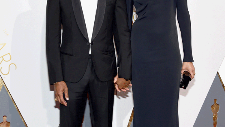 Pharrell Williams y Helen Lasichanh (Getty Images)