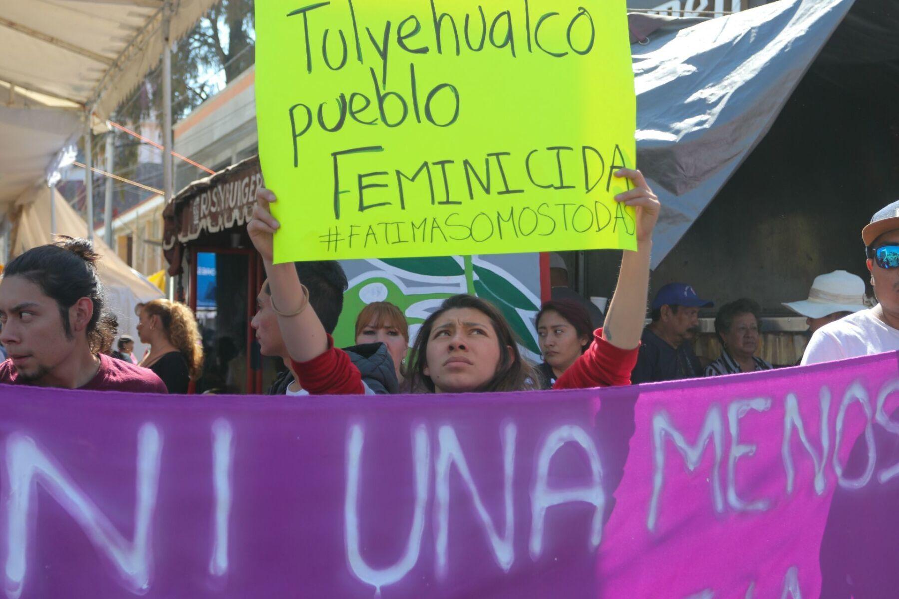 Protestas por Fátima