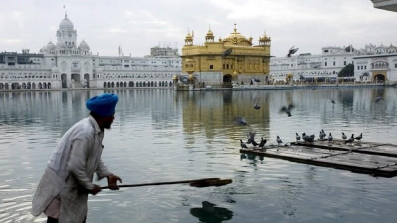 templo dorado, el sitio sagrado de los sikh