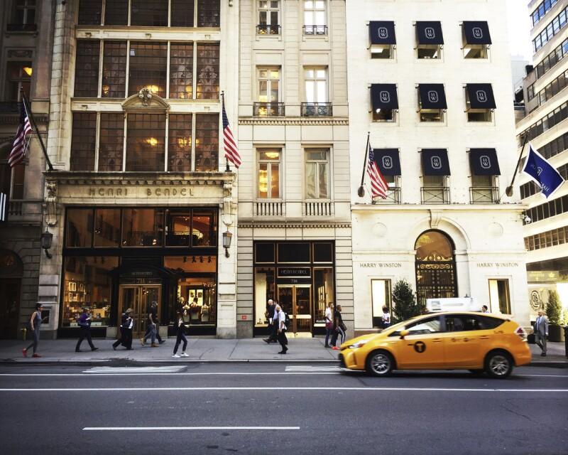 Henri Bendel and Harry Winston Stores in Manhattan