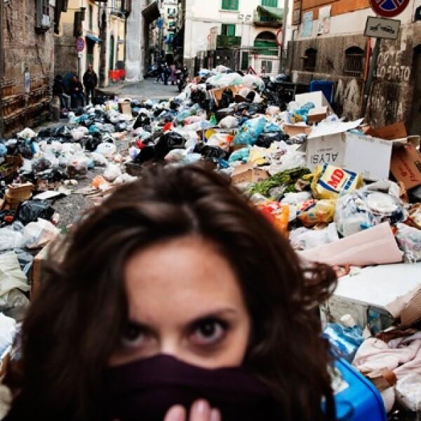 basura crisis italia
