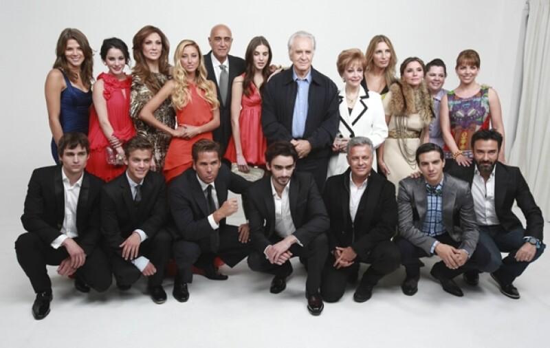 Ayer el exitoso productor presentó al elenco de su nueva serie, misma que comenzará grabaciones el próximo lunes desde Acapulco.