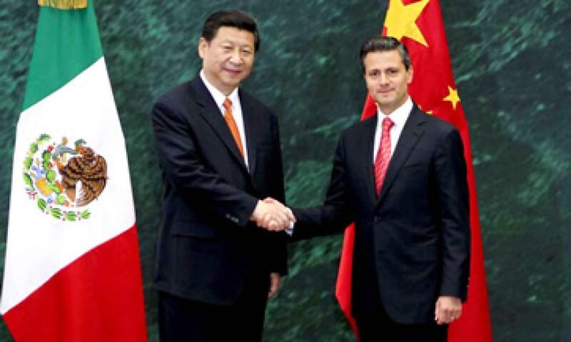 El martes, China y México acordaron buscar un mayor equilibrio en la balanza comercial. (Foto: Notimex)