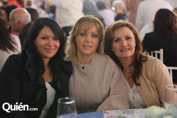 Laura Vargas,Maritza Rivera,Elisa Rivera