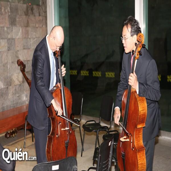 Carlos Prieto,Yo-yo Ma