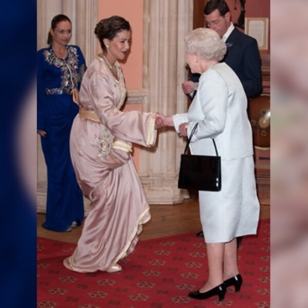 la reina de la bienvenida a la princesa Lalla Meryem, de Marruecos
