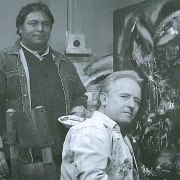 Alejandro Martí y su gusto por la pintura.