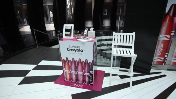 Evento Clinique Crayola
