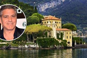 George Clooney tiene fama por ser todo un conocedor en las bienes raíces, siendo esta Villa una de sus mejores compras.