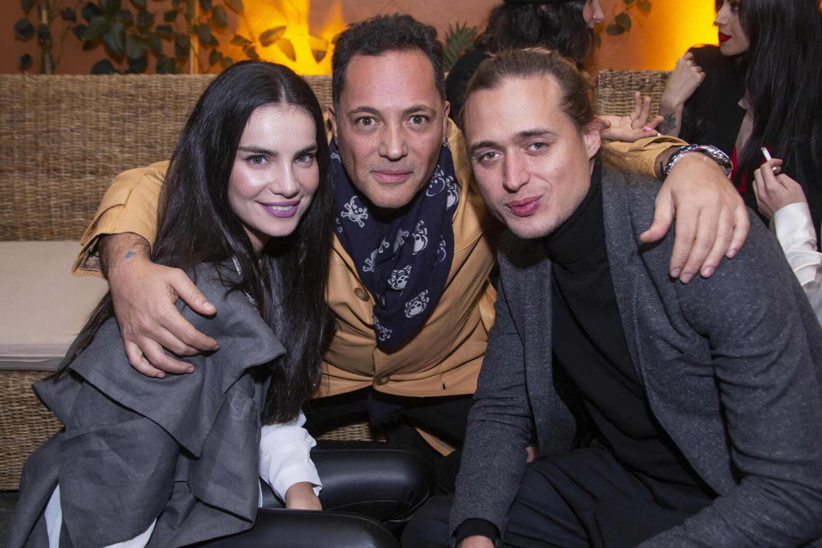 Ayari Anaya, Hector Bitar, Alexander Diaz