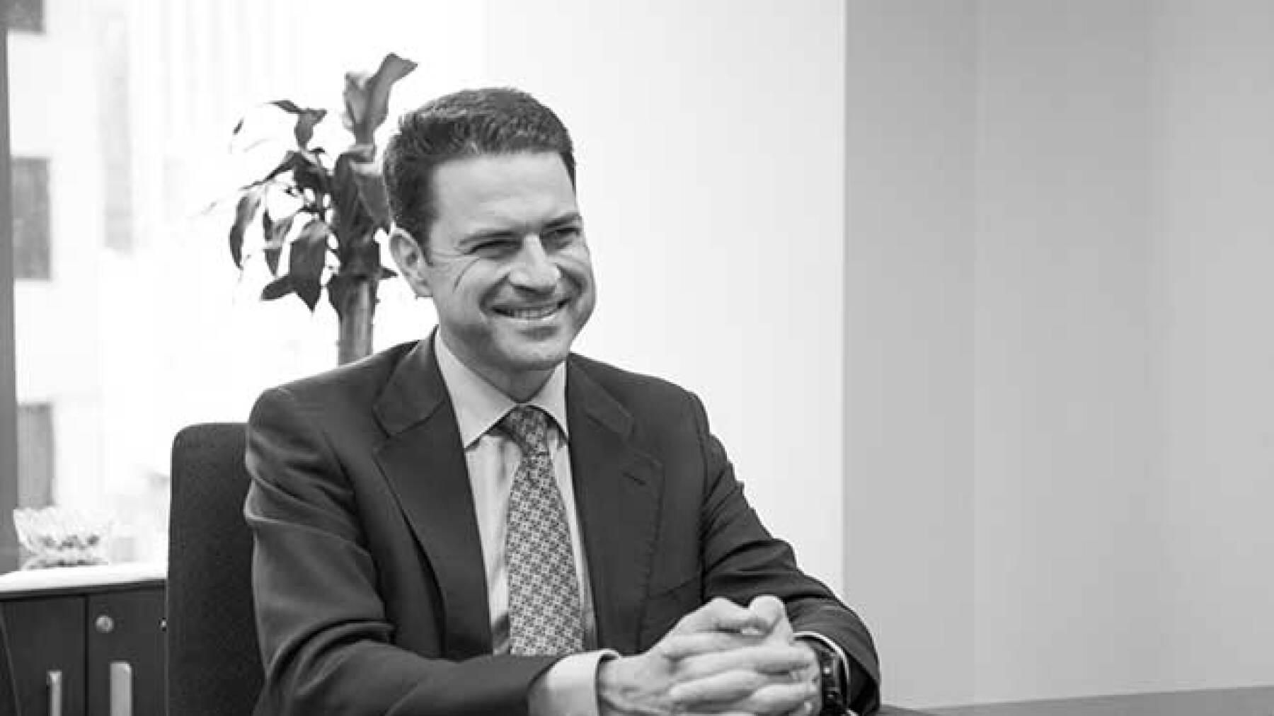 Agustín Tejedor, director general.