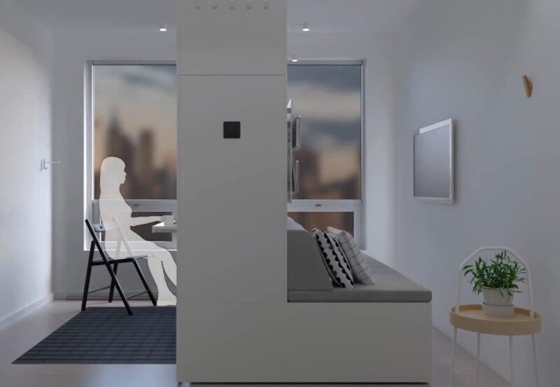 Mueble robótico Rognan