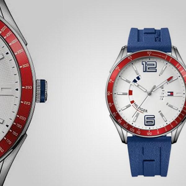 Sincronízate con este reloj, que tiene un diámetro de 40 mm y resistencia al agua hasta por 30 metros.