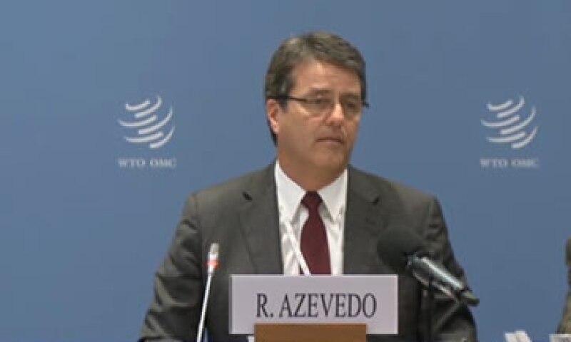 La candidatura de Azevêdo se apoyó en los países emergentes y en desarrollo, pero también tuvo sustento en las naciones más ricas. (Foto: Tomada de Wto.org)