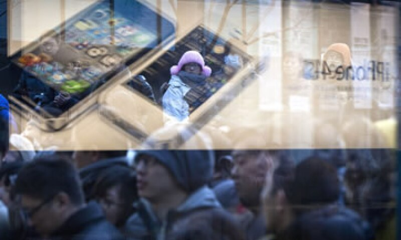 El Año Nuevo Chino impulsó las ventas del iPhone en el mayor mercado de móviles en el mundo. (Foto: AP)