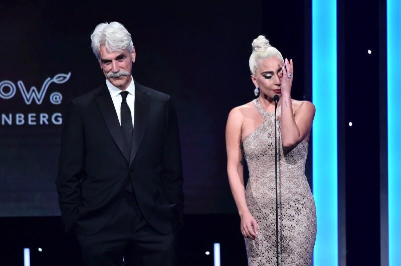 Lady Gaga no pudo contener las lágrimas al hablar de Bradley Cooper.