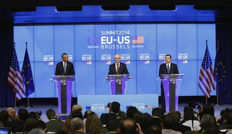 Obama cumbre EU y UE