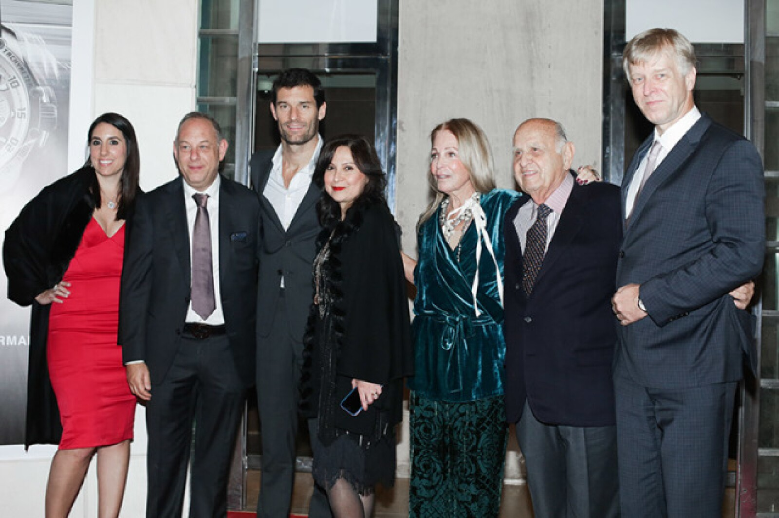 Alejandra Lorenzo,Ari Berger,Mark Webber,Ivonne Lebena,Barbara Berger,Mauricio Berger y Rudolph Lang
