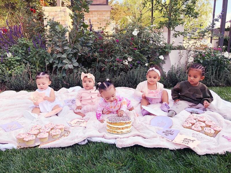 La fabulosa cupcake party que organizó Khloé Kardashian
