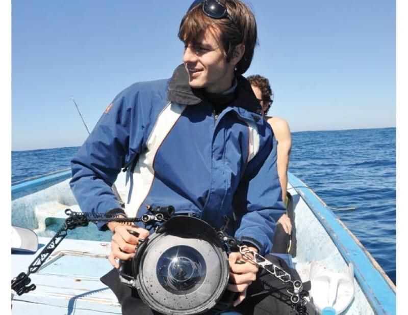 Desde muy pequeño Jero Prieto tuvo una gran pasión por el mar.