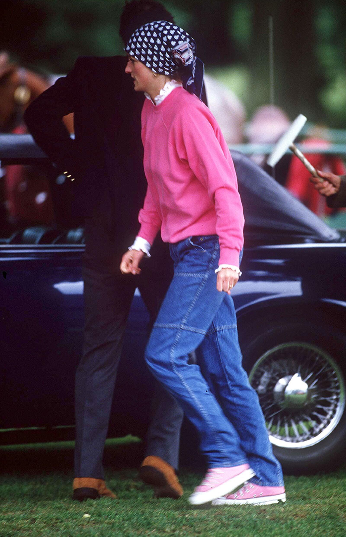 Polo at Windsor, Berkshire, Britain - 1986