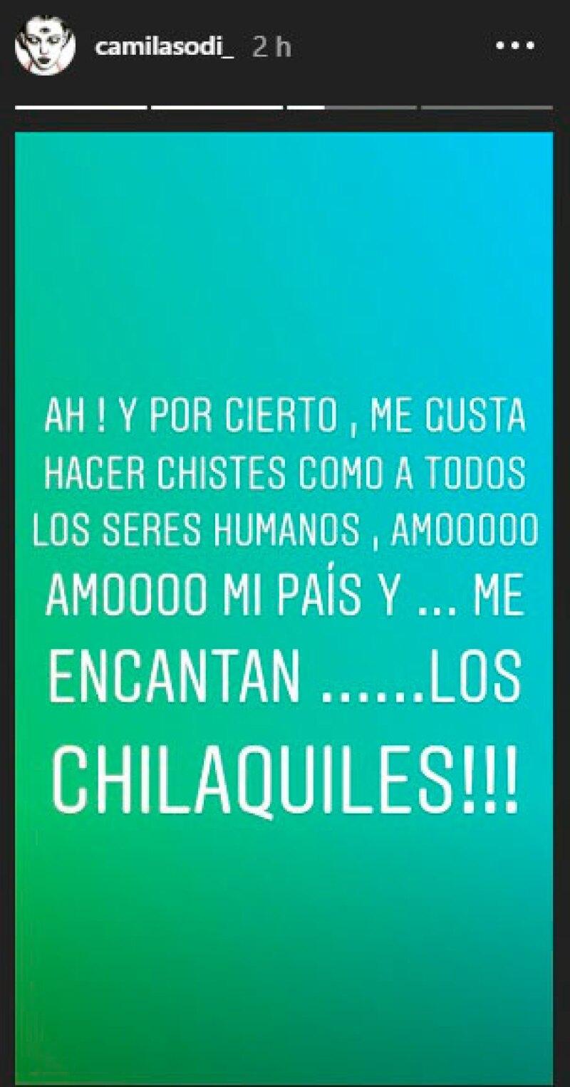 Camila Sodi Stories