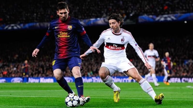 barcelona milan liga de campeones