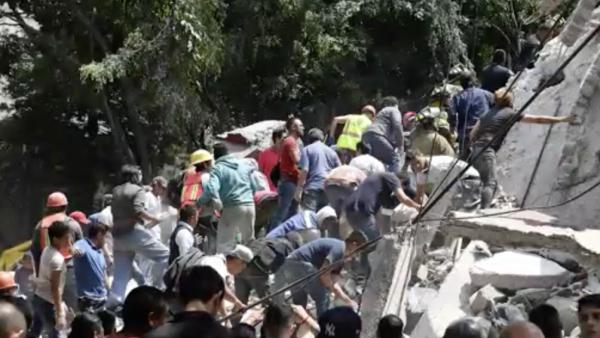 El terremoto que sacudió México en el aniversario de otro terremoto