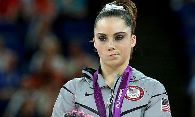 La gimnasta olímpica que se hizo famosa gracias al meme &#39McKayla is not impressed&#39 ya no se ve, para nada, como en las Olimpiadas de 2012 en Londres.