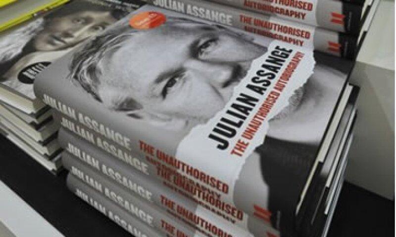 Julian Assange afirmó que canceló el contrato del libro el 7 de junio pasado. (Foto: Reuters)