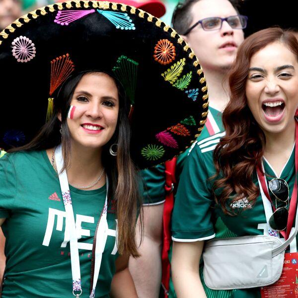 Mexicanos en el Mundial de Rusia2018.