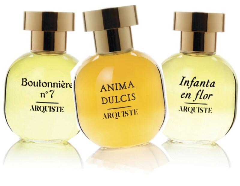 Boutonniere no. 7, Infanta en Flor y Anima Dulcis, son parte de la colección Arquiste.
