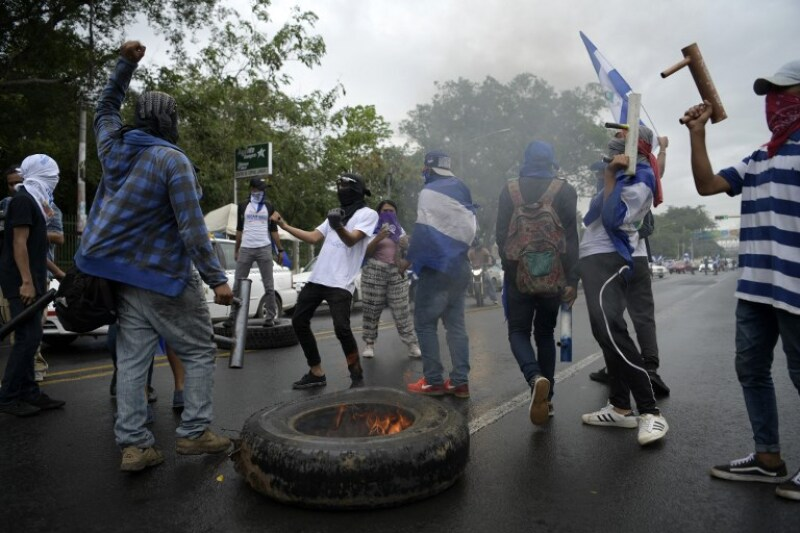 NICARAGUA-UNREST-OPPOSITION