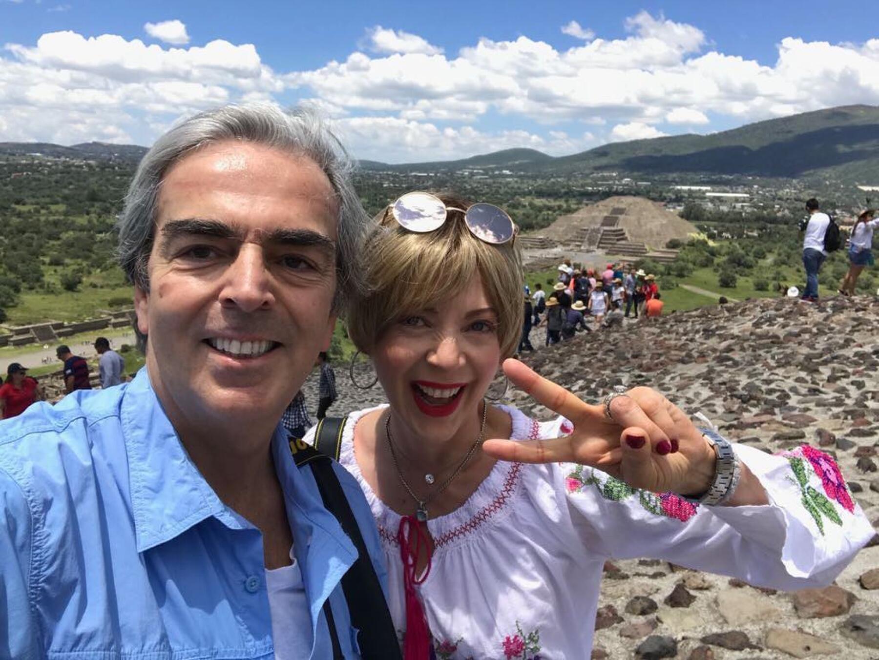 Edith González y Lorenzo Lazo