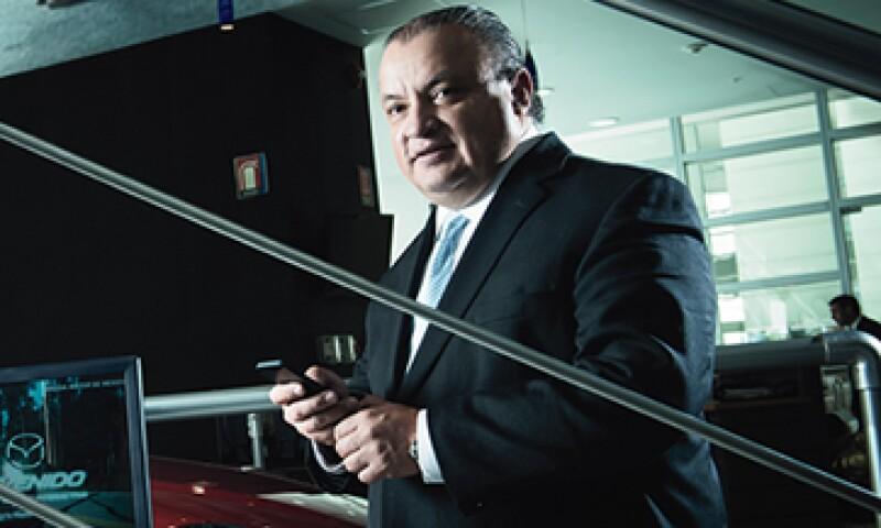 Leopoldo Orellana hizo de Mazda una marca de lujo y la colocó dentro del top 10 de las automotrices más importantes de México. (Foto: Carlos Aranda)