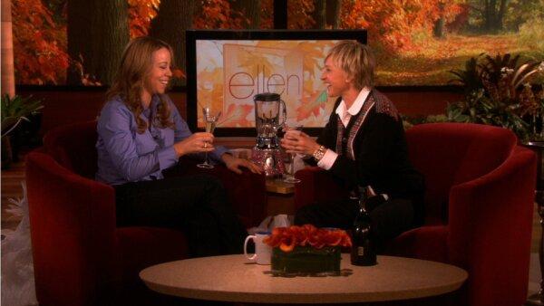 Mariah Carey y Ellen DeGeneres.