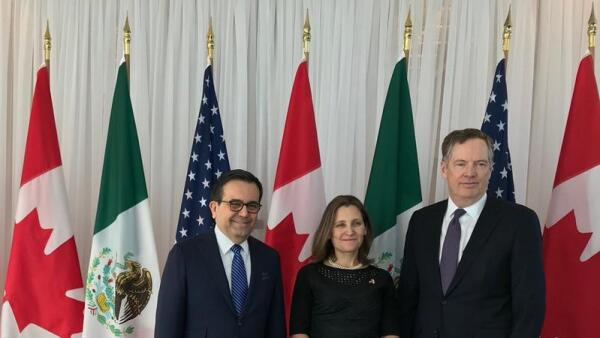 Tras la ronda seis, México, Canadá y EU coinciden en que el TLCAN tiene vida