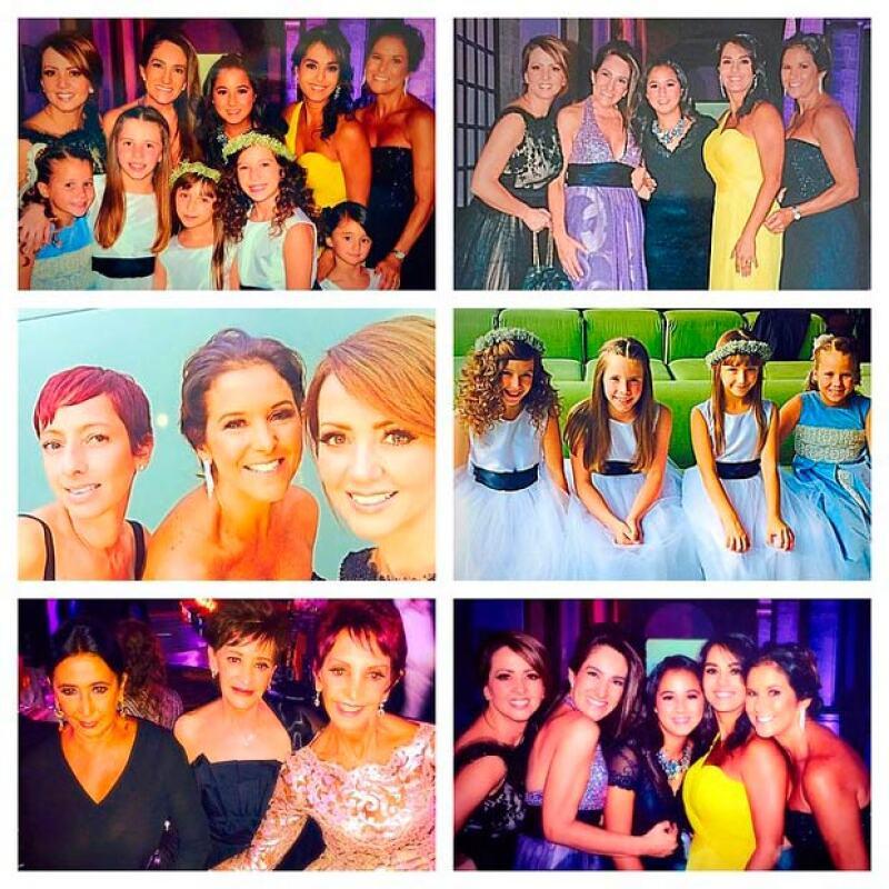 Las mujeres Legarreta o de Legarreta que asistieron a la boda de Juan Carlos y Daniela.