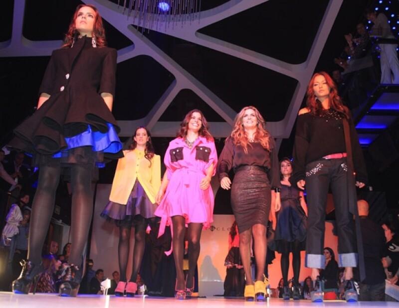 Montserrat Oliver y Bárbara Coppel presentaron su línea de calzado en el antro Privé, el más nuevo y exclusivo de León. Este lugar convoca a los más socialitos de la ciudad cada fin de semana.