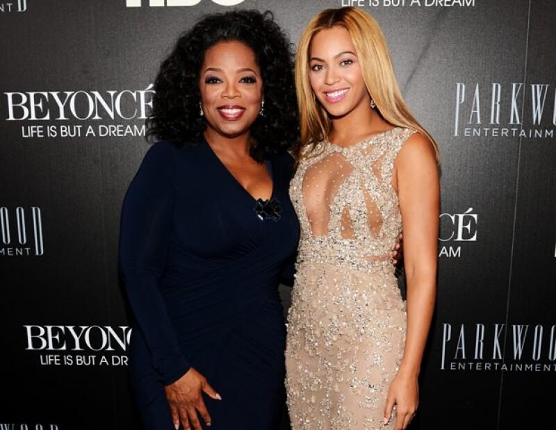 El 12 de febrero, Beyoncé y Oprah presentaron el documental de la cantante para HBO.