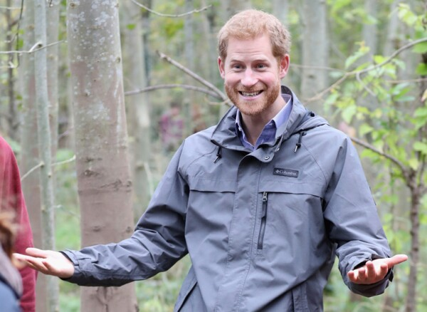 Prince Harry visit to Preston, Lancashire, UK - 23 Oct 2017